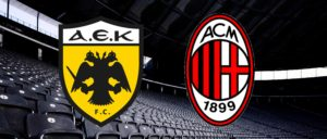 Europa League - AEK Atene-Milan