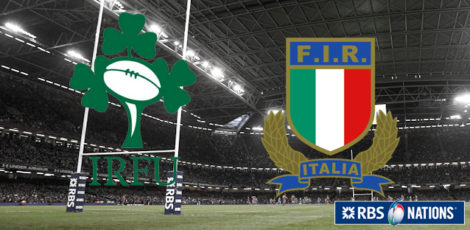 6 Nations - Ireland-Italy