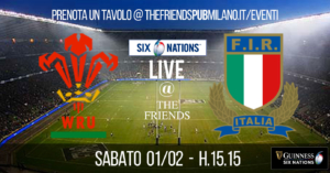 6 Nations 2020 - Wales-Italy