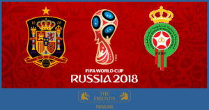 World Cup 2018: Spain-Morocco