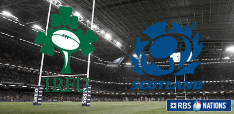 6 Nations - Ireland-Scotland