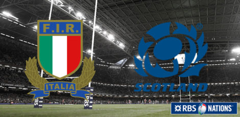 6 Nations - Italy-Scotland