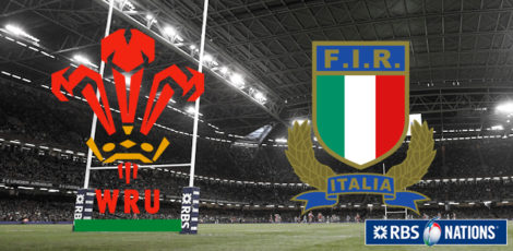6 Nations - Wales-Italy