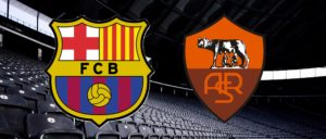 Champions League - Barcelona-Roma