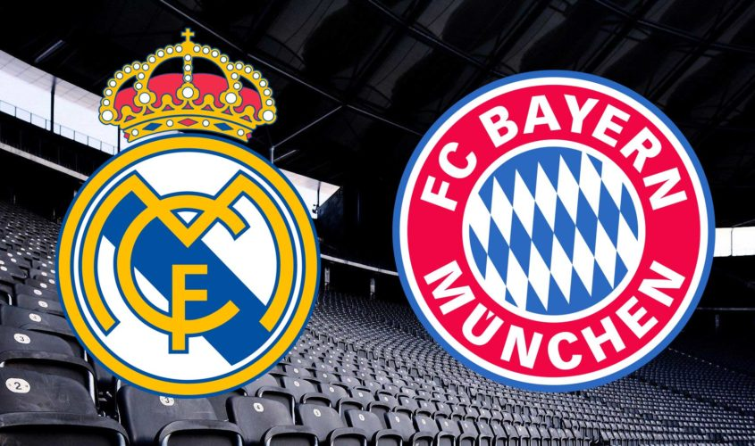 Champions League - Real-Madrid-Bayern-Monaco