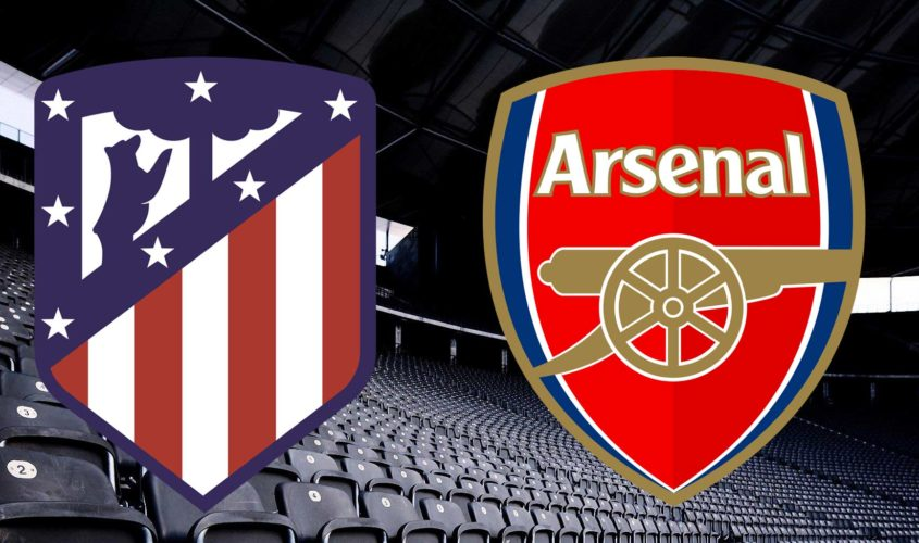 Europa League - Atletico-Madrid-Arsenal