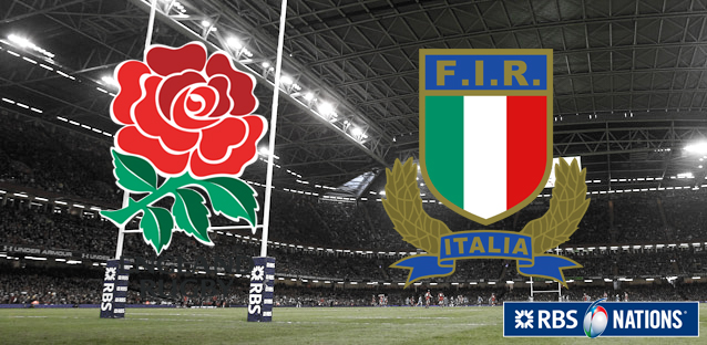 6 Nations - England-Italy
