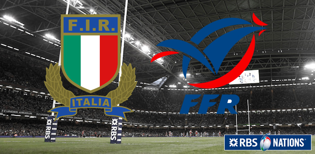 6 Nations - Italy-France