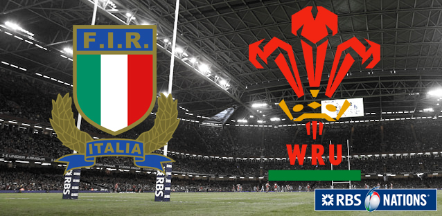 6 Nations - Italy-Wales