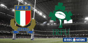 6 Nations - Italy-Ireland