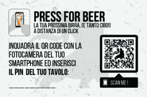 PRESS FOR BEER CARD