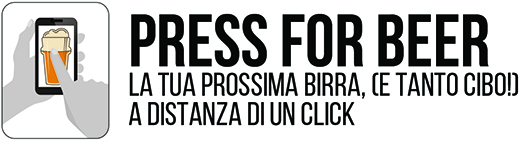 Press for Beer - Logo + payoff - the friends pub milano