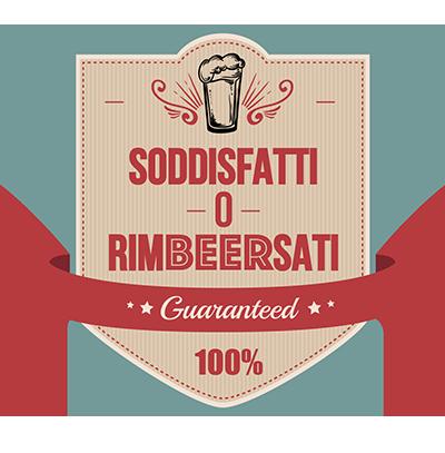 Logo soddisftti o rimBEERsati - the Friends Pub Milano