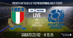 6 Nations 2020 - Italy-Scotland